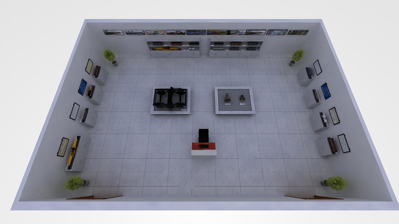 货物装载模型室